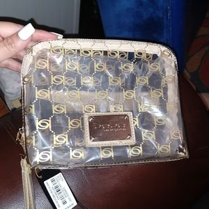 Make up bag Cassie clear logo from BEBE